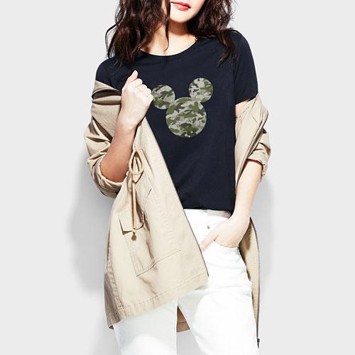 迪士尼系列印花T恤-02-女