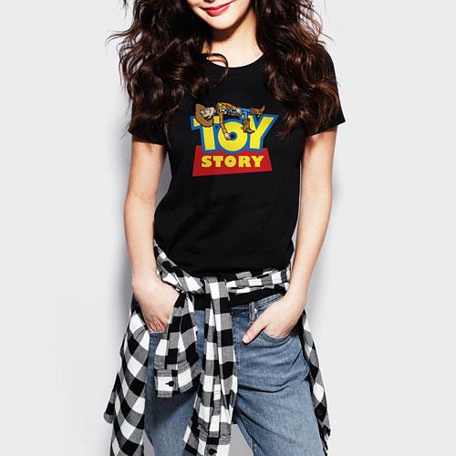 皮克斯系列印花T恤-06-女