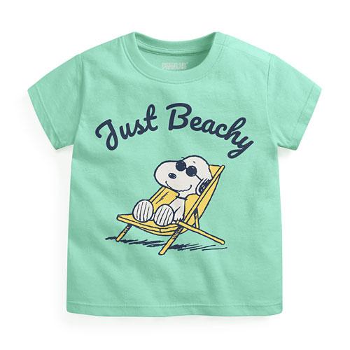 史努比印花T恤-05-Baby