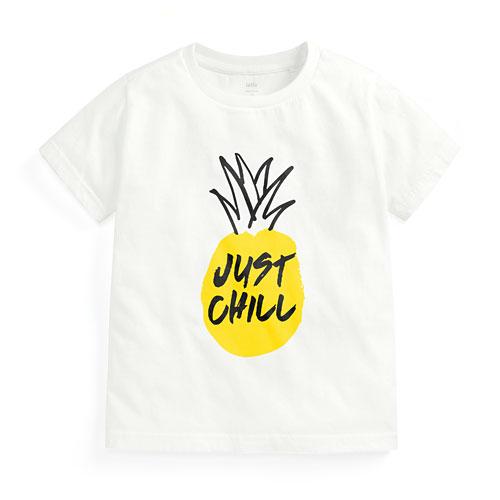鳳梨印花T恤-童