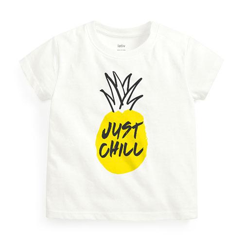 鳳梨印花T恤-Baby
