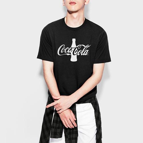 可口可樂印花T恤-03-男
