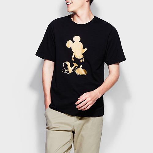 迪士尼系列印花T恤-08-男
