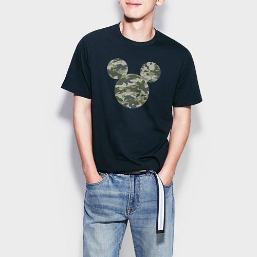 迪士尼系列印花T恤-02-男