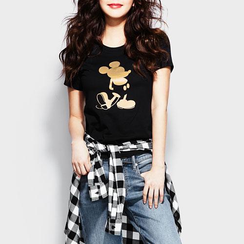 迪士尼系列印花T恤-08-女