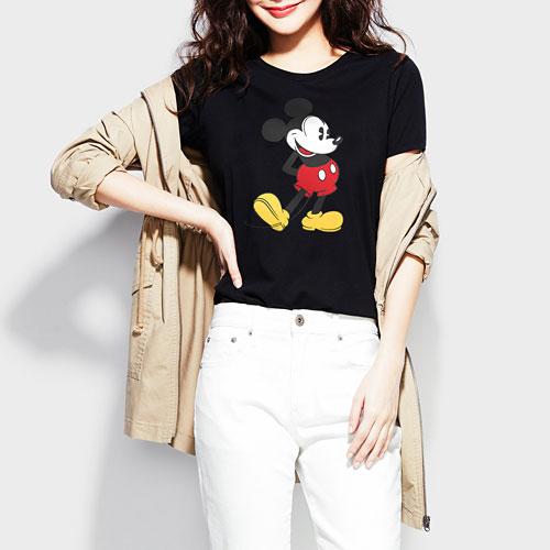 迪士尼系列印花T恤-06-女