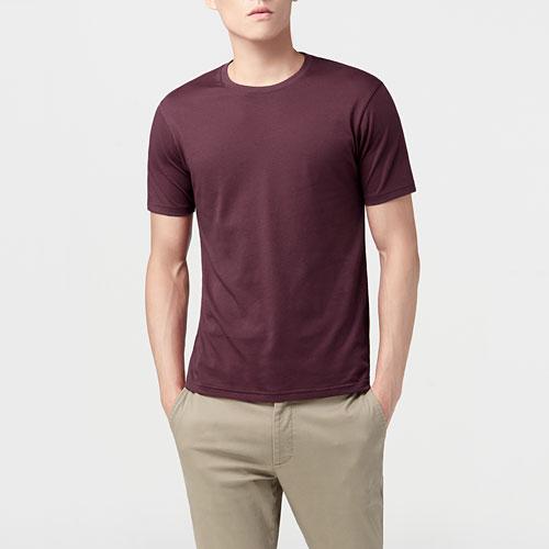 快乾棉圓領T恤-男