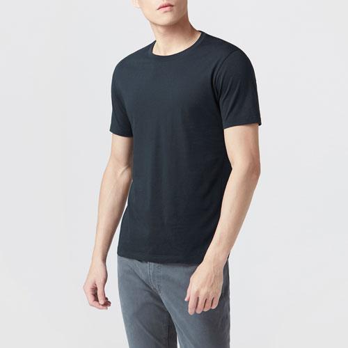 純棉圓領T恤-男