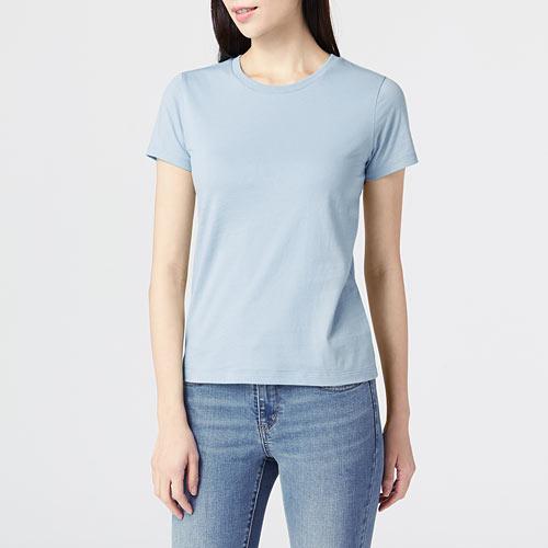 純棉圓領T恤-女
