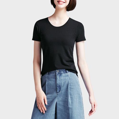 Bra圓領T恤-女