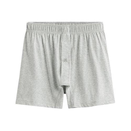 純棉針織四角褲-男
