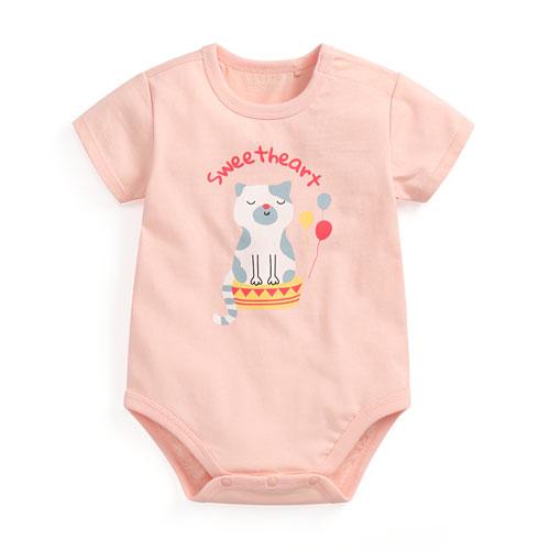 棉質印花包臀衣-Baby
