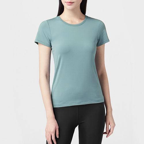 吸排圓領T恤-女