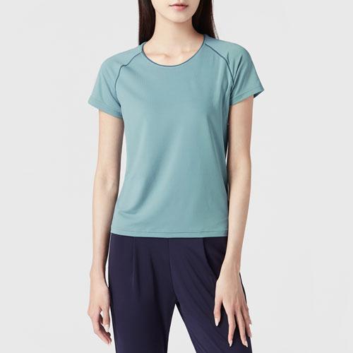 吸排短袖T恤-女