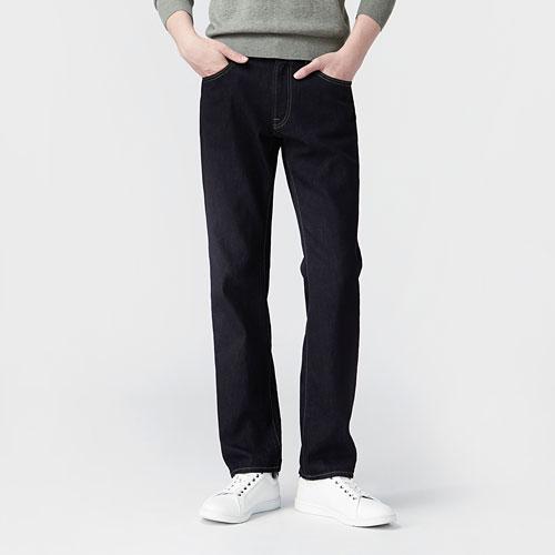 Regular Fit直筒牛仔褲-男