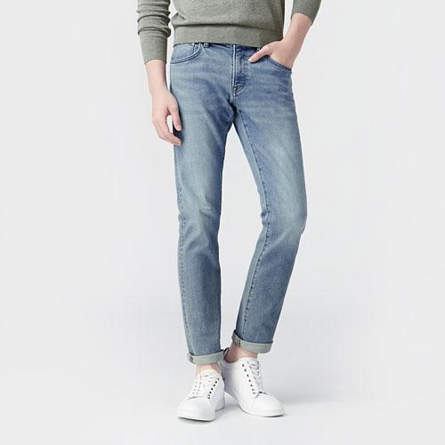 Slim Fit修身牛仔褲-男