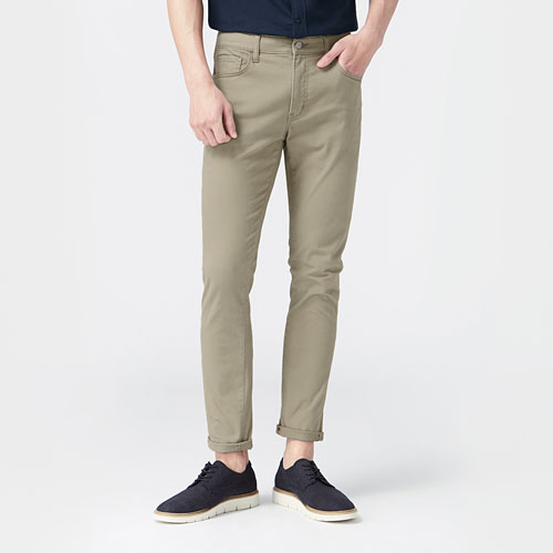 Skinny Fit多色窄管牛仔褲-男