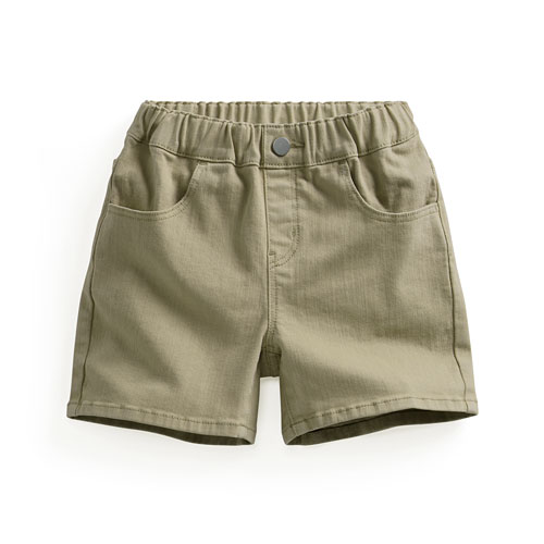 多色牛仔短褲-童