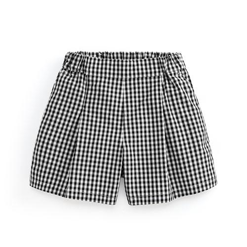 純棉寬襬短褲-童