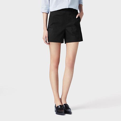 緞面短褲-女