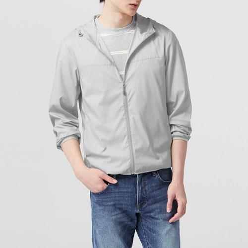 輕型風衣外套-男