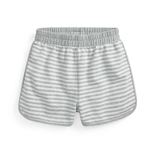小毛圈條紋短褲-童