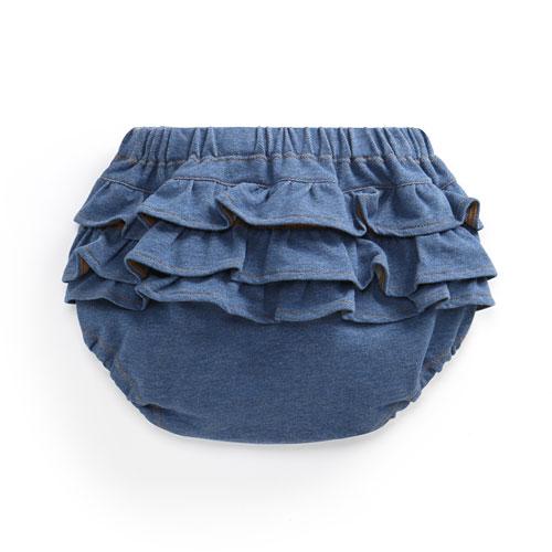 針織荷葉邊包臀褲-Baby