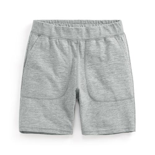 竹節棉口袋短褲-童