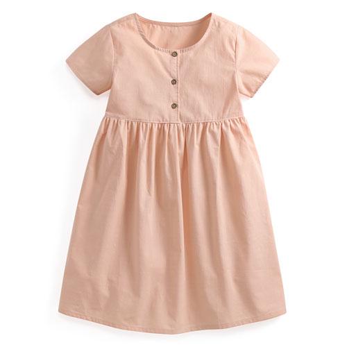 純棉短袖洋裝-童