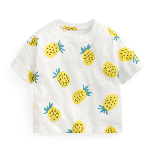 竹節棉水果寬鬆T恤-Baby