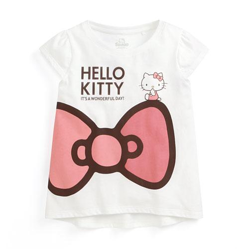 Hello Kitty印花T恤-03-童