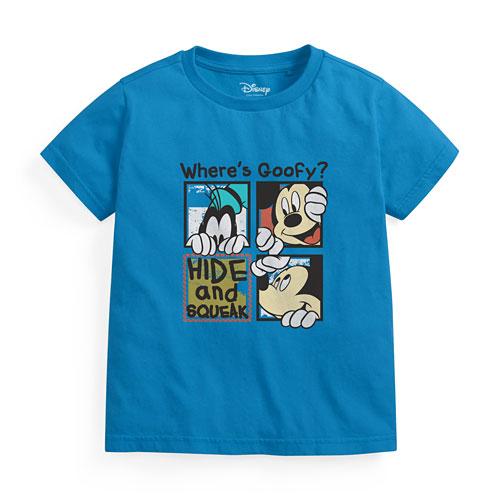 迪士尼系列印花T恤-05-童