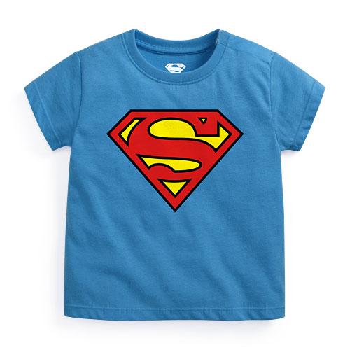 Superman印花T恤-01-Baby