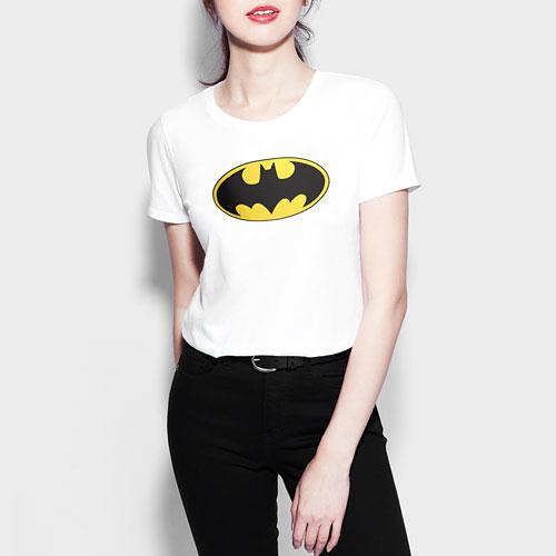 Batman印花T恤-01-女