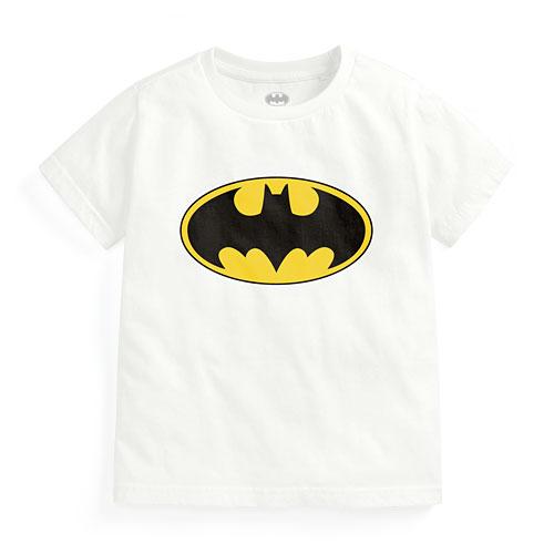 Batman印花T恤-01-童