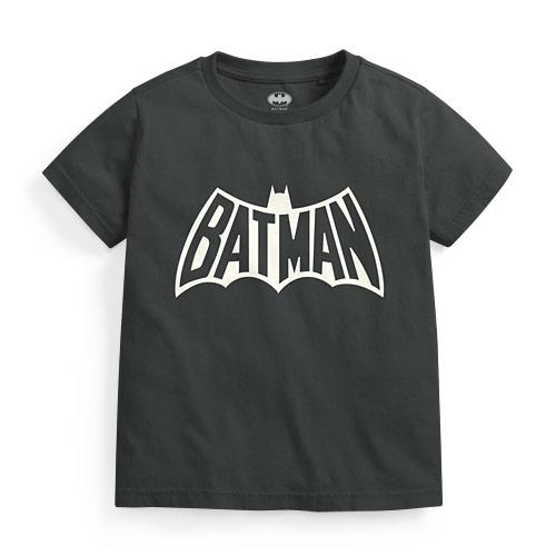 Batman印花T恤-02-童