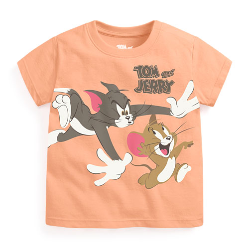 Tom & Jerry印花T恤-02-Baby