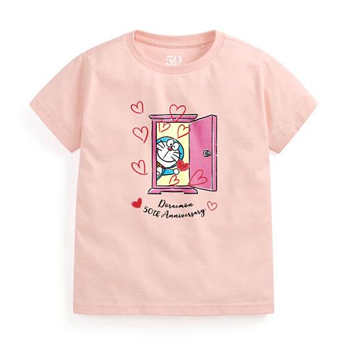 哆啦A夢50周年印花T恤-03-童