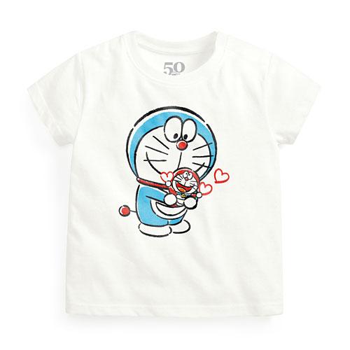 哆啦A夢50周年印花T恤-04-Baby