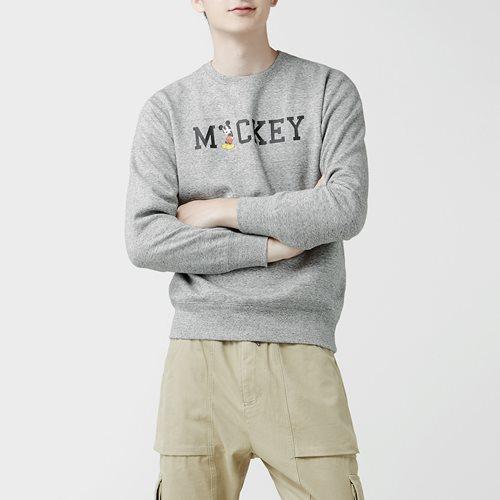 迪士尼系列刷毛圓領衫-14-男