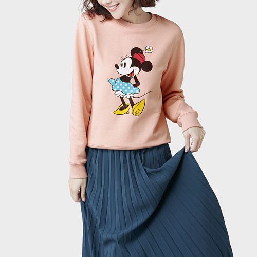 迪士尼系列刷毛圓領衫-18-女