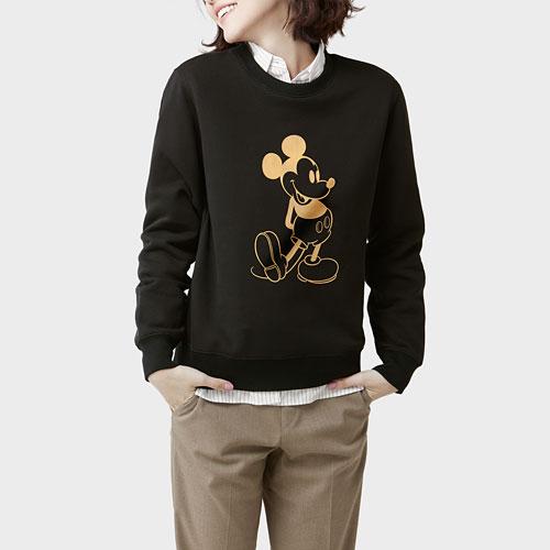 迪士尼系列刷毛圓領衫-15-女