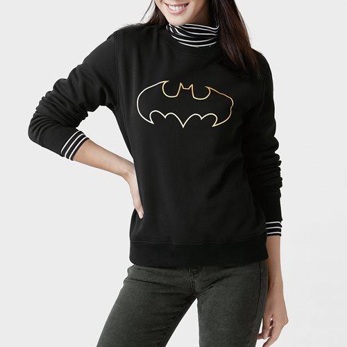 Batman刷毛圓領衫-02-女