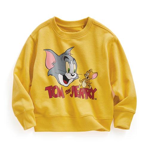 Tom & Jerry毛圈圓領衫-02-童