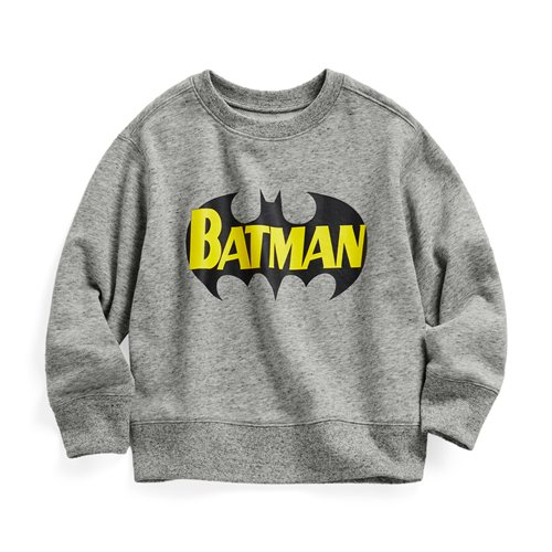 Batman毛圈圓領衫-01-童