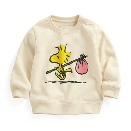 史努比毛圈圓領衫-01-Baby