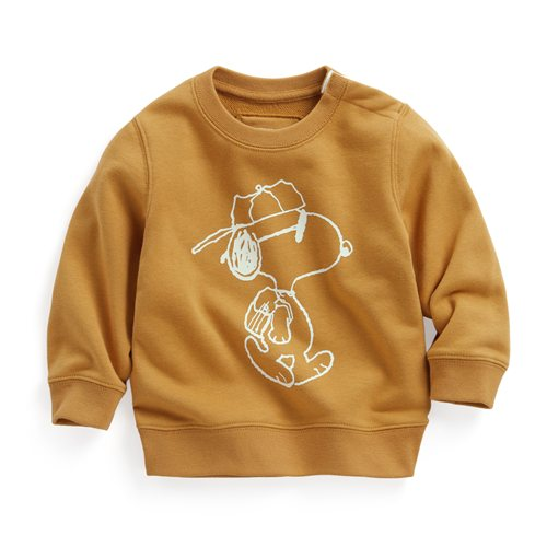 史努比毛圈圓領衫-02-Baby