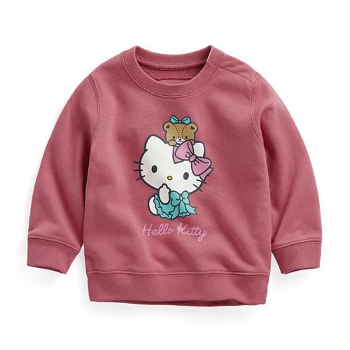 Hello Kitty毛圈圓領衫-02-Baby