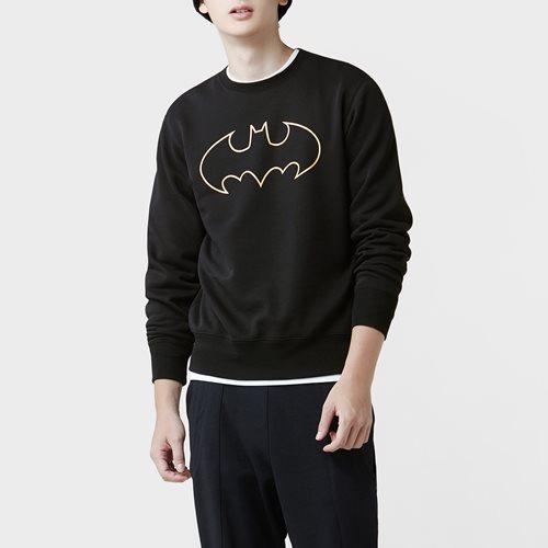 Batman刷毛圓領衫-02-男