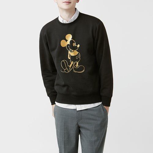迪士尼系列刷毛圓領衫-15-男